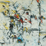 7-Essence of Culture - Intimacy, 1989RM 55,000.00-SOLD | Mixed media on canvas | 178 x 178 cm