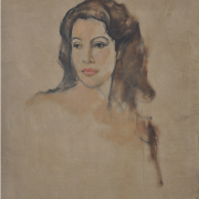 2-Portrait of an Indonesian Beauty, Undated RM .19,80000-SOLD | Oil on canvas | 80 x 65 cm