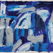 2-Abstract Landscape, 2011 Abstract Landscape 2, 2009 RM 4,400.00-SOLD | Oil on paper 53 x 69 cm | 55 x 60.5 cm
