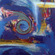 "7-RM 3,360.00-SOLD Lot 54 Bhanu Achan ""Landscape Series II"" (2011) Mixed Media on Canvas 151cm x 84cm RM 8,000"