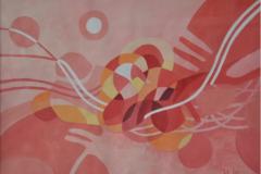 Nik Rafin %22Mindscape Series 16%22 Acrylic on Canvas 39.8cm x 30cm (2011) RM 2, 000