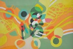 Nik Rafin %22Mindscape series 6%22 Acrylic on Canvas 39.8cm x 30cm (2011) RM 2,000