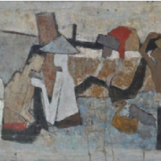 1-Return from the Sea, 1963 RM 7,150.00-SOLD | Oil on canvas | 89 x 53 cm