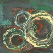 2-Untitled, 1959 RM 17,050.00-SOLD | Oil on board | 59.5 x 75 cm
