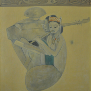 1-Kenyan Orchestra, 1968RM 286,000.00-SOLD | Oil on canvas | 120 x 80 cm