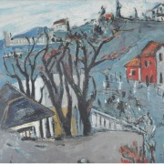 1-My Days In France, 1959 RM 28,600.00-SOLD | Oil on canvas | 51 x 62 cm