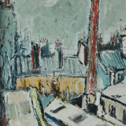 2-Paris 1962, 1962 RM 17,600.00-SOLD | Oil on board | 59.5 x 45.5 cm