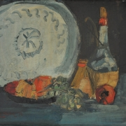 9-Still Life, 1972 RM 9,900.00-SOLD | Acrylic on board | 34 x 43.5 cm