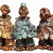 Anak Malaysia, 2012 RM 52,800.00-SOLD   Bronze   26 x 48 x 26 cm