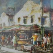 Jalan Petaling, Kuala Lumpur, 2012 RM 2,240.00-SOLD | Watercolour on paper | 76 x 56 cm