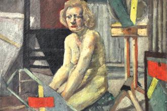 74-Chuah-Siew-Teng-1966-Oil-on-canvas-60.5-x-60.5cm