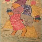 Lot-31-Chuah-Thean-Teng-Fisherman-Batik-55.5-x-45-cm