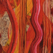 2-Tenaga Dalam Ruang 15, 2008 RM 7,700.00-SOLD | Acrylic on canvas | 182 x 134 cm