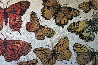 70-David-Bromley-22Butterflies22-2015-91-x-183cm