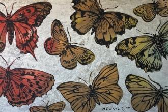 70-David-Bromley-22Butterflies22-2015-91-x-183cm