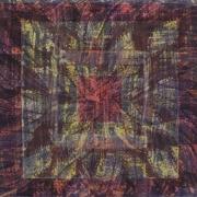 3-Mandala Series, 2000 RM 9,350.00-SOLD | Batik | 116 x 75 cm