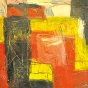 5-Pamah Pesegi, 2002 RM 6,050.00-SOLD   Mixed media on canvas   107.5 x 122 cm