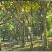 1-Forest, 1997 RM 4,950.00-SOLD | Oil on canvas | 40.5 x 50 cm