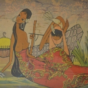Native Beauty, Undated RM 4,000 - RM 8,000-AVAILABLE | Batik | 48 x 74 cm