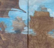 "1-RM 9,350.00-SOLD Hamir Soib ""Mind Blower"", Oil on canvas, 20 x 81cm"
