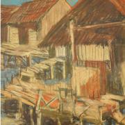 2-Nostalgia I, 1994 RM 3,850.00-SOLD | Pastel on paper| 40 x 27 cm