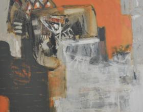 "10-Awang Damit Marista ""Kemudi Patah"" (2001) 110 x 118.5 cm"
