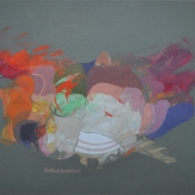10-Untitled, 1981 RM 80,300.00-SOLD | Acrylic on paper | 47 x 68 cm