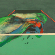 13-Untitled, 1977 RM 330,000.00-SOLD | Acrylic on board | 59 x 120 cm