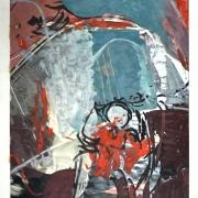 Ibrahim Hussein, Datuk The Traveller,1964 29 x 19 cm