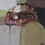 Lot-60-Ibrahim-Hussein-Datuk-Untitled-1963-acrylic-ink-and-collaged-paper-on-paper-laid-to-card-25.4-x-23.5-cm
