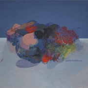 11-Untitled, 1981 RM 94,600.00-SOLD | Acrylic on paper | 47 x 68 cm