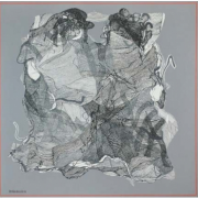 5-Untitled, 1996 RM 308,000.00-SOLD | Oil on canvas | 101 x 101 cm