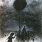 2-Timeless, 2008 RM 1,650.00-SOLD   Charcoal on board   61 x 44 cm