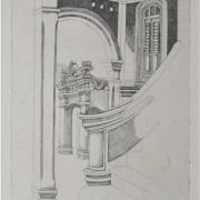 3-Istana Pelamin, Kedah, 1986 RM 4,950.00-SOLD | Etching 292:300 | 23.5 x 17.5 cm