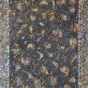 16-Ismail Latiff (2003) Holy night..jungle of dakrness Acylic on canvas 138 x 90 cm RM 31,900.00