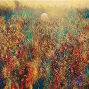 4-Cermin Alam...Biarkan Cahaya Bicara, 1997 RM 52,800.00-SOLD   Acrylic and mixed media on canvas   138 x 17