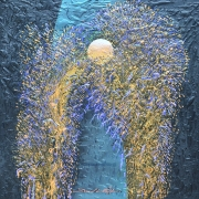 22-Magic Movement Night Dream, 2009 RM 5,280.00-SOLD | Acrylic and mixed media on canvas | 60 x 60 cm