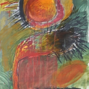4-Untitled, Undated RM 10,230.00-SOLD   Mixed Media On Paper   11.5 x 75.5 cm