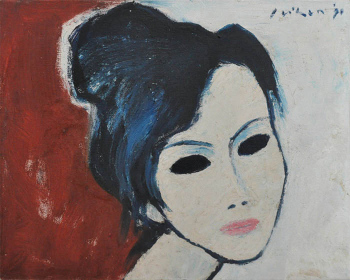 13-Face-1990-RM-6160.00-SOLD-Oil-on-canvas-40-x-50-cm