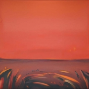 14-The Red Dreaming, 2004 RM 145,600.00-SOLD | Oil and acrylic on canvas | 179 x 220 cm