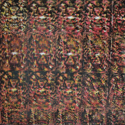 "3-RM 5,040.00-SOLD Kelvin Chap ""Journey 7 (Narashima Clawing HiranyakaShipu)"" (2008) Mixed media on canvas, 129 x 129 cm"