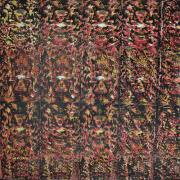 "3-RM 5,040.00-SOLD Kelvin Chap ""Journey 7 (Narashima Clawing HiranyakaShipu)"" (2008) Mixed media on canvas, 129 x 129 cm"