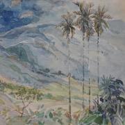 1-Khalil-Ibrahim-Landscape-Drawing-1980s