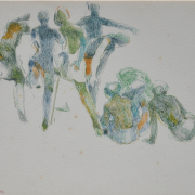 15-Untitled, 1982-1983 RM 6,050.00-SOLD | Mixed media on paper | 22 x 30.5 cm