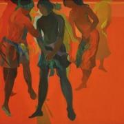 24-East Coast Series, 1999 RM 55,000.00-SOLD | Acrylic on canvas | 103 x 127 cm