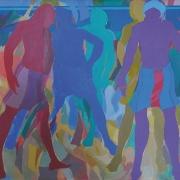 29-Sabak No 29:1991, 1991 RM 29,700.00-SOLD | Acrylic on canvas | 53 x 65 cm