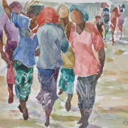 34-East Coast Series, 2011 RM 4,950.00-SOLD | Watercolour on paper | 21 x 30 cm