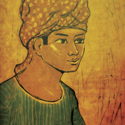 12-Kelantanese, 1968 RM 33,000.00-SOLD   Batik   45 x 36 cm