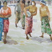 19-East Coast Series, 1993 RM 8,800.00.00-SOLD   Watercolour on paper   27.5 x 37 cm