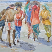 20-East Coast Series, 1993 RM 8,800.00-SOLD   Watercolour on paper   27.5 x 37 cm
